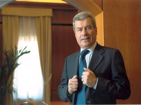 Carlo Sangalli, presidente di Confcommercio