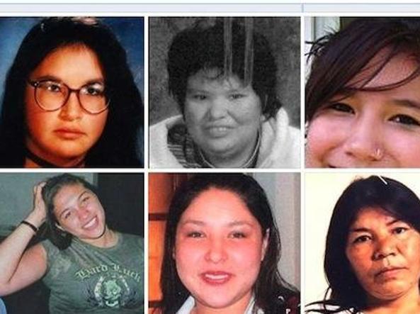 Il sito online della polizia canadese con le foto delle donne scomparse