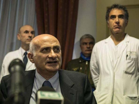 Giuseppe Ippolito, direttore scientifico dell'ospedale Spallanzani (Jpeg Fotoservizi)