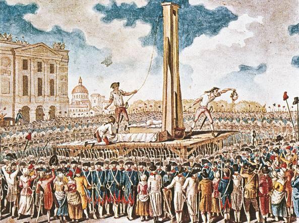 L'esecuzione di Luigi XVI, il 21 gennaio 1793 a Parigi