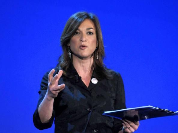 Daria Bignardi, nuova direttrice di Rai 3 (Imagoeconomica)