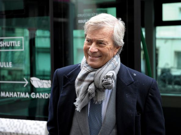 Vincent Bolloré, presidente di Vivendi (Afp)