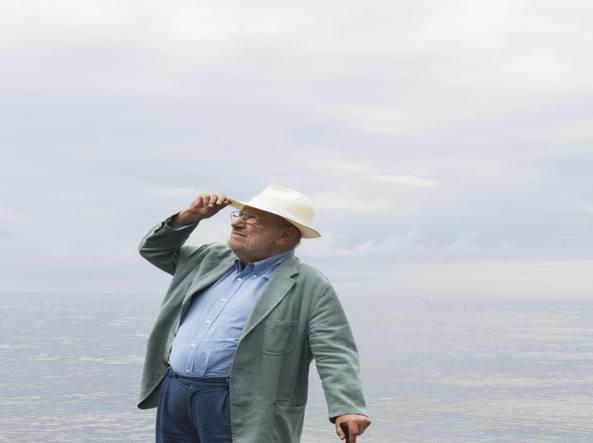 Umberto Eco (foto Leonardo Cendamo / LUZ)