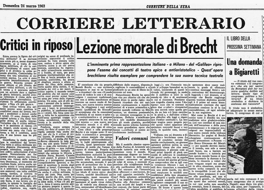 Morto umberto eco mezzo secolo dello scrittore sul - Corriere della sera cucina ...