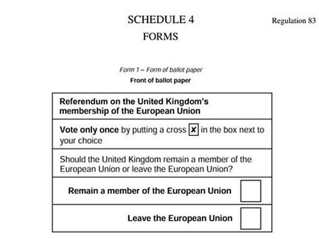 Brexit, la Gran Bretagnaal voto  il 23 giugno Cosa sceglierà? Vota