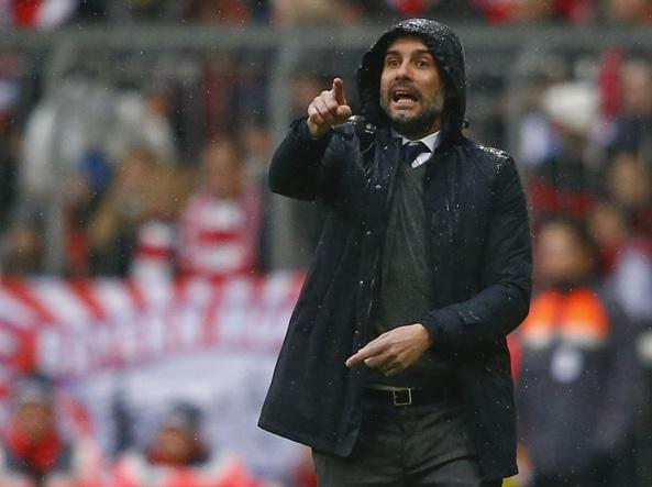 Pep Guardiola a fine stagione lascerà il Bayern per il Manchester City