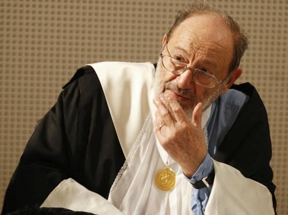 Umberto Eco (Foto Lapressse)
