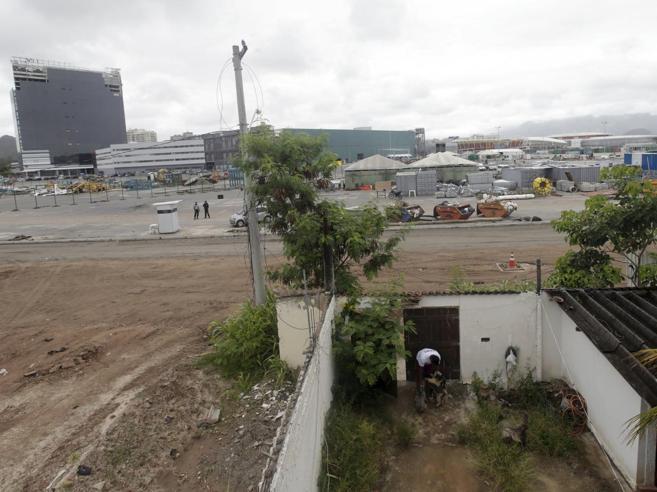 Rio, la favela che boicotta i   Giochi«Via da qui?  E perché mai?» |foto