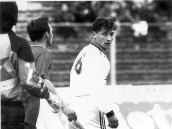 Brescia-Roma, 28 marzo 1993: Francesco Totti, 16 anni, debutta con la Roma lanciato da Vujadin Boskov (Ap)