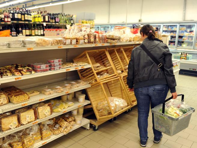 Inflazione al palo, ferma al più 0,3%Ma in Abruzzo e Marche cresce di più