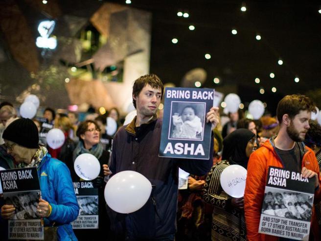 Baby Asha lascia l'ospedaleTornerà sull'isola-prigione?