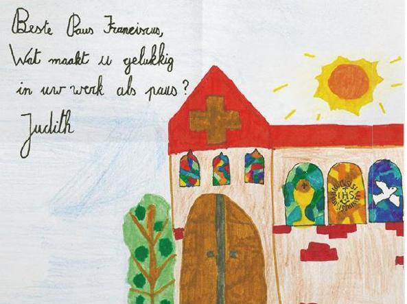 La lettera di Judith, Belgio, 9 anni