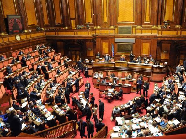 L'aula del Senato (Ansa/Onorati)