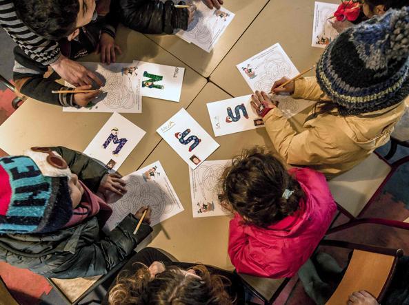 Migranti a scuola