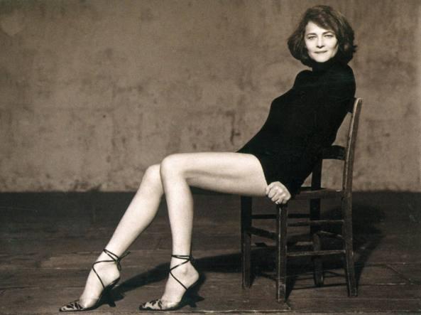 L'attrice inglese nel 2001