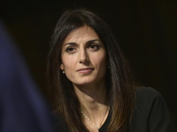 Virginia Raggi, candidata sindaca per         Roma del Movimento Cinque stelle