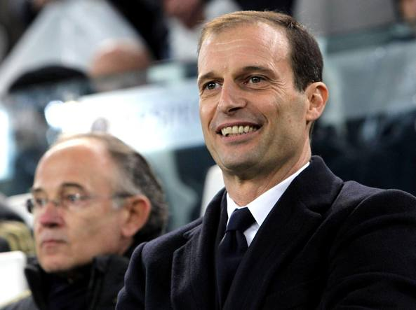 Massimiliano Allegri guarda lontano (Getty Images/Luzzani)
