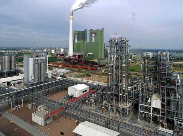 Uno stabilimento Dow Chemical