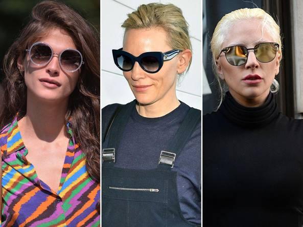 Da sinistra elisa Sednaoui, Kate Blanchett e Lady Gaga