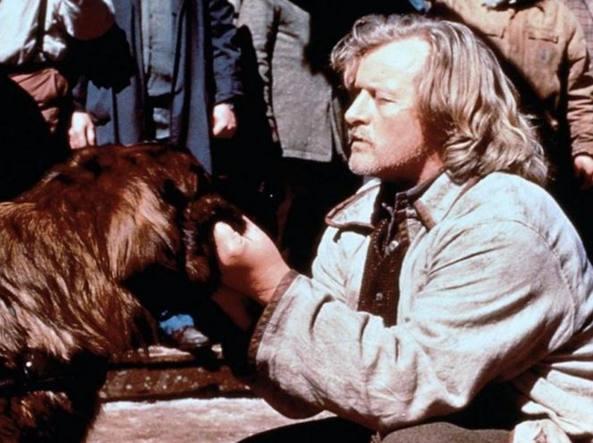 Rutger Hauer in una scena del film �Il richiamo della foresta� (1997)