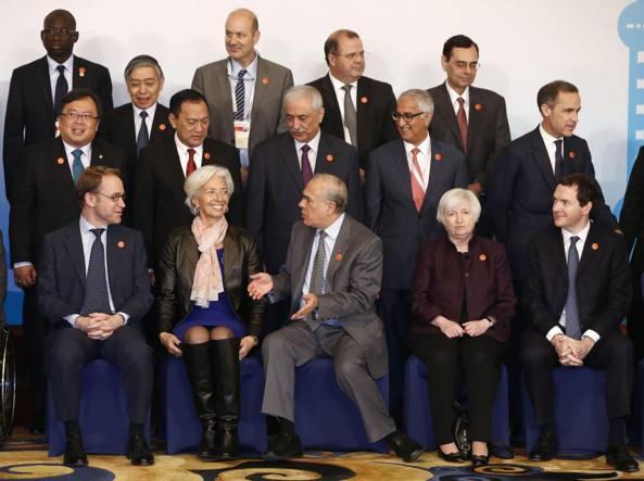Foto di gruppo al vertice G-20 (Ap)