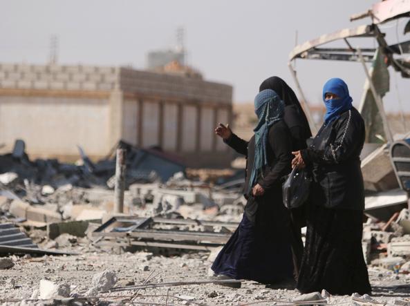 Donne nella provincia di Hasaka (Reuters)