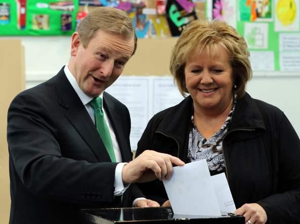 Il premier irlandese Enda Kerry