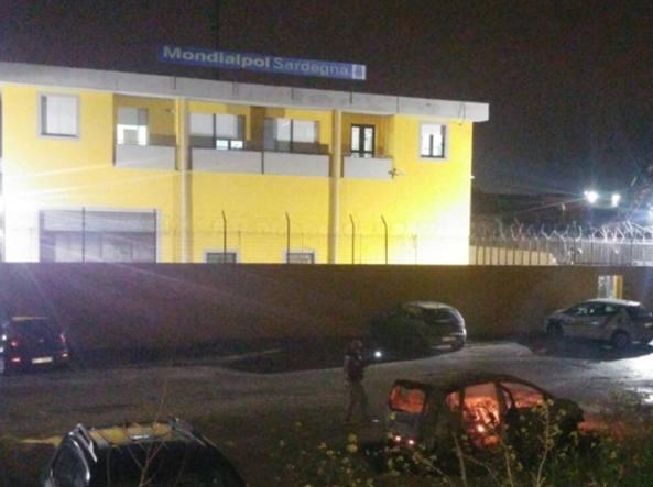 La sede della Mondialpol Sardegna a Sassari