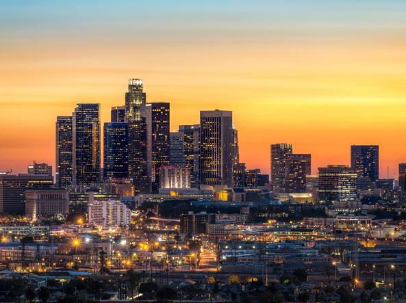 Una veduta di Los Angeles (Fotolia)