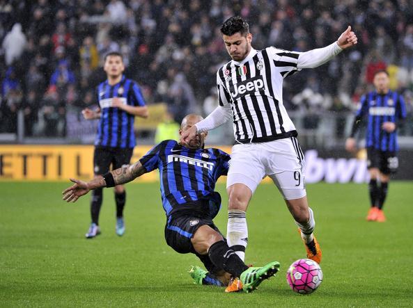 Un momento di Juventus-Inter (LaPresse)
