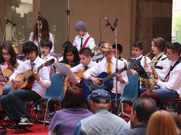 Studenti di licei musicali alla rassegna musicale �Smim e Licei musicali nelle piazze della citt�,  a Cremona