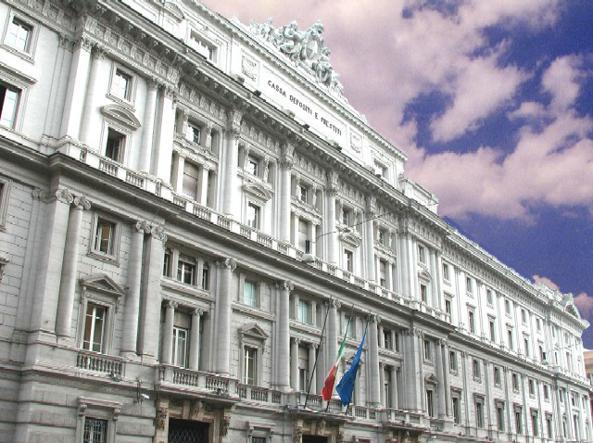 La sede della Cassa Depositi e Prestiti