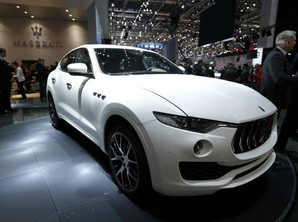 La Maserati Levante (Reuters)