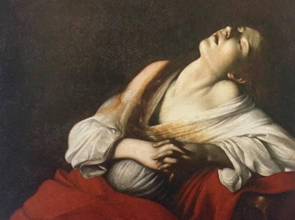 L'opera di Caravaggio,  Maddalena in estasi