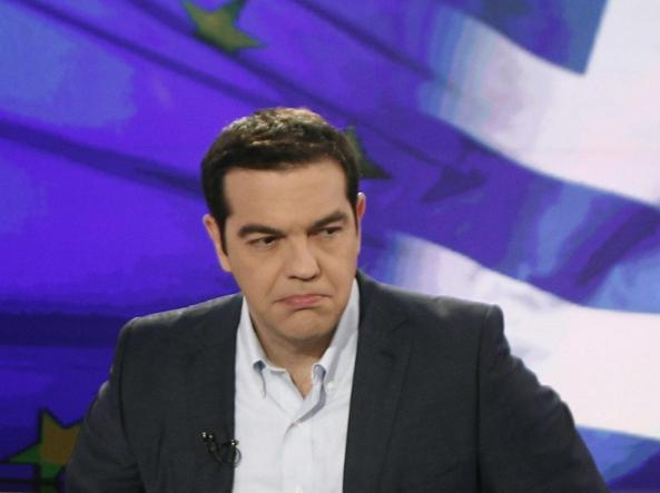 Il premier greco Alexis Tsipras, 41 anni