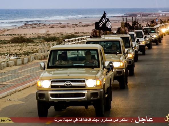 Isis in Libia