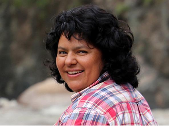 Bertha Caceres (Foto Goldman Prize)