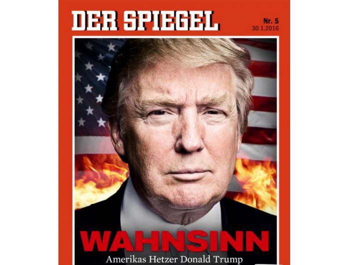 Donald trump le copertine di der spiegel e new yorker for Spiegel 52 2017