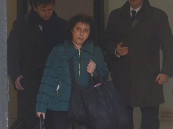 Monica Busetto esce dal carcere (da Corriere del Veneto)