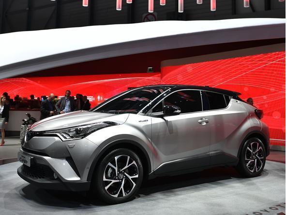 Toyota CH-R  (Afp)