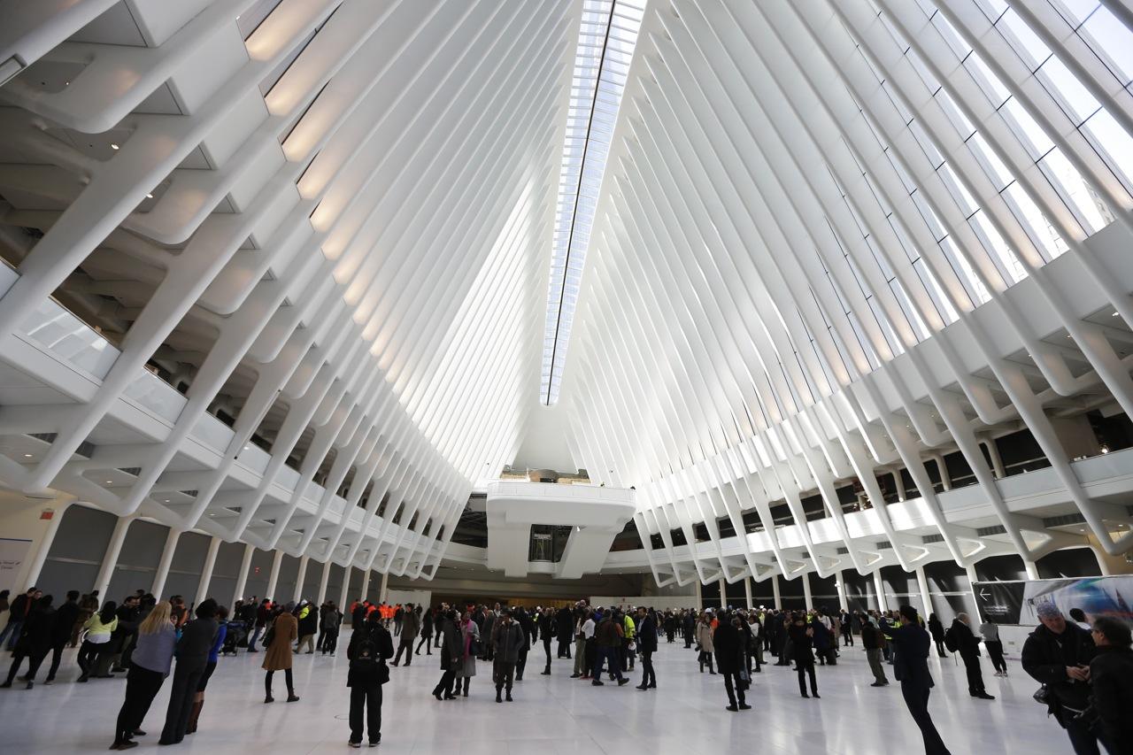 New York Inaugura 171 Oculus 187 Il Nuovo Hub Creato Da