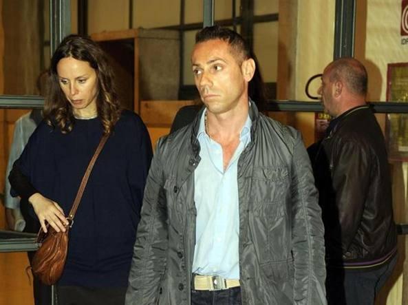 Pietro Maso in una foto d'archivio mentre lascia il tribunale dopo l'udienza davanti al giudice di sorveglianza per l'affidamento in prova ai servizi sociali, Milano, 23 maggio 2012 (Ansa)