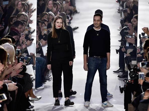 Serge Ruffieux e Lucie Meier (Reuters)