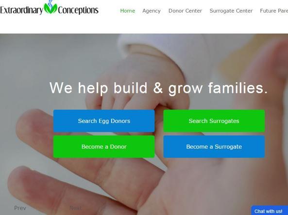 Il sito dell'agenzia di San Diego