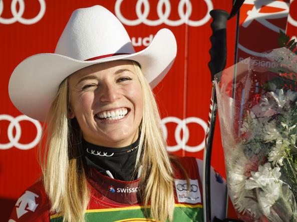 Lara Gut nuova regina dello sci (Foto Ap)