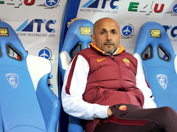 L'allenatore della Roma Luciano Spalletti (LaPresse)