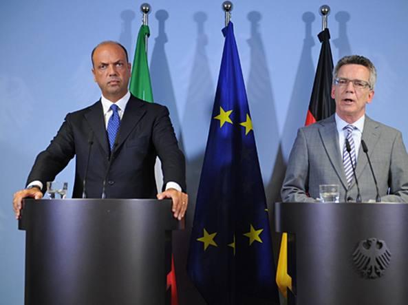 Angelino Alfano e Thomas de Maiziere  (foto www.bmi.bund.de)