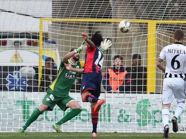 Palladino firma il gol del 2-0 contro l'Ascoli  (LaPresse/Mazzitello)