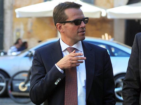 David Rossi in una foto del 2011 (foto Imagoeconomica)