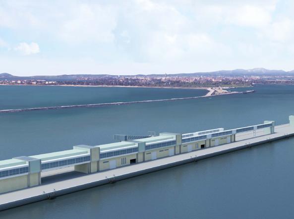 Il Nuovo Terminal Crociere di Venezia in un rendering